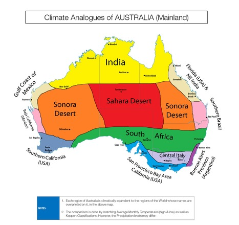 Climate Comparison Maps | Geography Education | Scoop.it