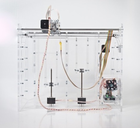 Pwdr - Open source powder-based rapid prototyping machine | Digital and parametric fabrication | Scoop.it