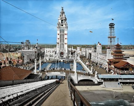 Dreamland in Color: 1905 | Shorpy Historical Photo Archive | Kitsch | Scoop.it