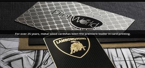 Laser Engraved Metal Business Cards   Metal Business Card   Scoop.it