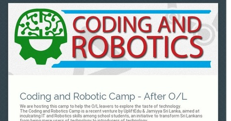 Coding and Robotic Camp - After O/L | Raspberry Pi | Scoop.it