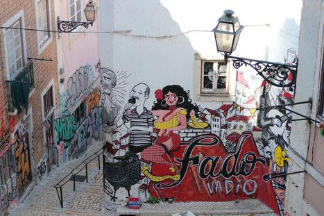 Lisbon! Is It Graffiti Or Is It Art? | World of Street & Outdoor Arts | Scoop.it