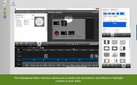 10 Free Camtasia Studio 8 Video Tutorials About Editing | Le numérique dans l'enseignement supérieur | Scoop.it
