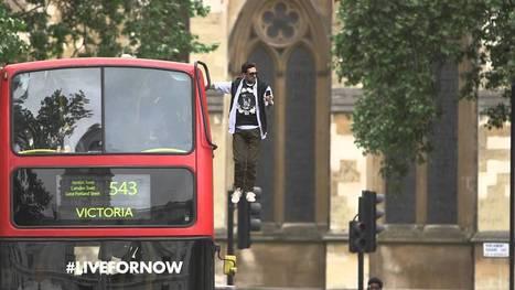 "Pepsi Max & Dynamo present: ""Bus Levitation"" #LiveForNow | Bizarre & Weird | Scoop.it"