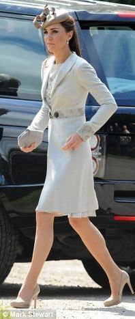 Kate Middleton: Nude Heels a Favorite of Prince William's Wife? - Gather Celebs News Channel | Nude | Scoop.it