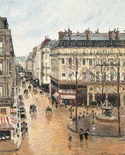 'Rue Saint-Honoré por la tarde. Efecto de lluvia', estrella a su pesar   Arte, Literatura, Música, Cine, Historia...   Scoop.it