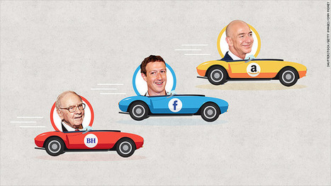 Amazon, Facebook now worth more than Buffett's Berkshire | Business Transformation | Scoop.it