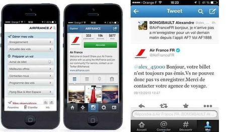 Air France joue la carte des réseaux sociaux - Le Figaro | News des Compagnies Aériennes de l'Océan Indien | Scoop.it