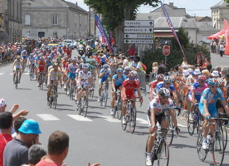 Le Tour de France passera finalement en centre-ville - 01/02/2016, Loudun (86) - La Nouvelle République   Tourisme Loudunais   Scoop.it