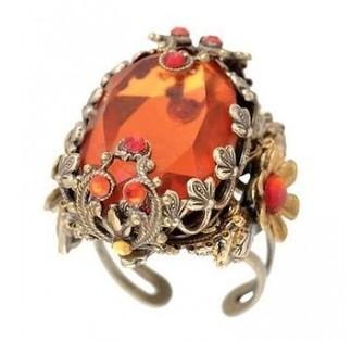 Michal Negrin Ladies Fashion Ring - Swarovski Crystal Ladies Rings | Michal Negrin | Scoop.it