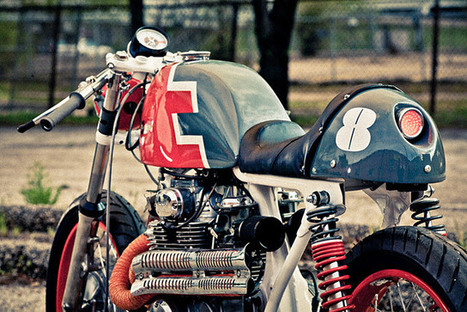 Honda CB350 – City of Hate Vintage Motorcycles | Cafe Racers | Scoop.it