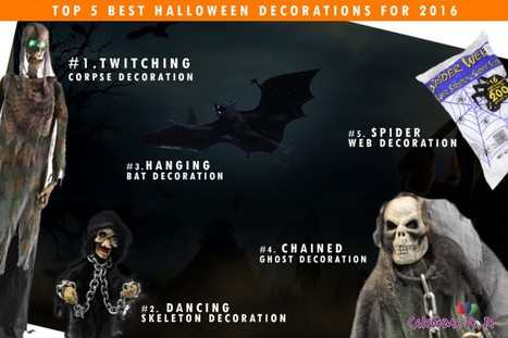 Top 5 Best Halloween Decorations for 2016 | Costume Shop and Party Supplies Ireland  online | Scoop.it