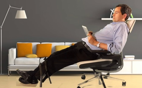 Chair Pitched as Answer to New Ways We Sit on Job | Healthcare IT Services | Scoop.it