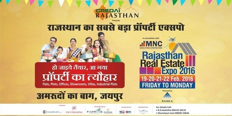 RAJASTHAN REAL ESTATE EXPO 2016 | Real Estate | Scoop.it