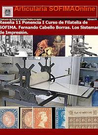 Sociedad Filatélica de Madrid: Articularía SOFIMAOnline14. Reseña 11 Ponencia Curso Filatelia SOFIMA. Fernando Cabello. Los sistemas de Impresión | SOFIMA al Día | Scoop.it