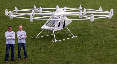 The Volcopter Has Now Taken Flight! | Heron | Scoop.it