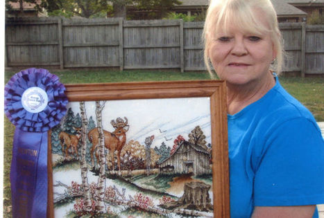 Cross stitch artist winner at county fair - Newton County Times (subscription) | CROSS STITCHING FOR STITCHERS WHO LOVE TO STITCH | Scoop.it