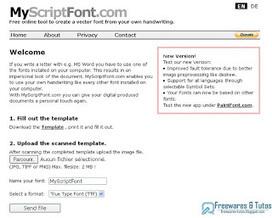 MyScriptFont : un service en ligne pour créer sa propre police d'écriture à partir de son écriture manuscrite ~ Freewares & Tutos | Logiciels et monde informatique | Scoop.it