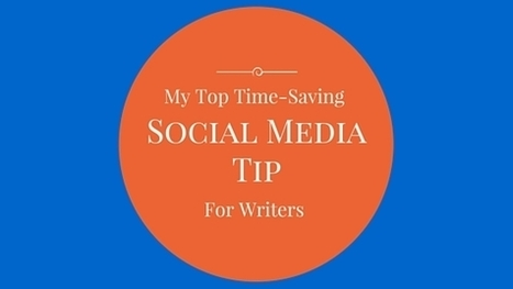 Top Time-Saving Tip for Writers | All Things Bookish: All about books, all the time | Scoop.it