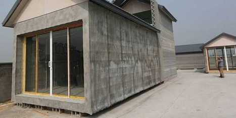 A Chinese Company 3-D Printed 10 Houses In A Day | Transition et Grands projets urbains | Scoop.it