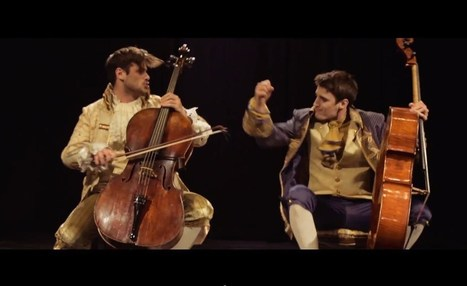▶ 2CELLOS - Thunderstruck [OFFICIAL VIDEO] - YouTube | READ | WATCH | LISTEN | Scoop.it