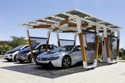 BMW unveils eco-friendly iSolar carport that supplies power to its car | Sustain Our Earth | Scoop.it