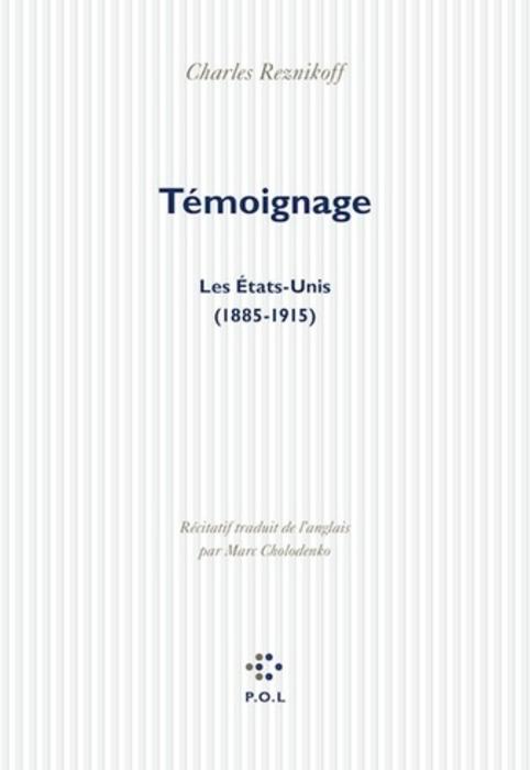 Témoignage de Charles Reznikoff, lecture de Emmanuel Laugier | Poezibao | Scoop.it