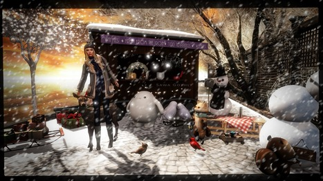 At Christmas, all roads lead home <3 | Second Life Sawa's Style | Scoop.it