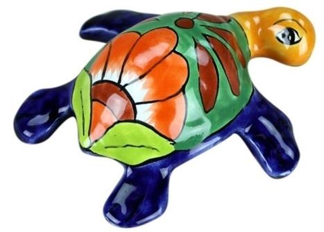 Talavera Sea Turtle | Mexican Decor & Accessories | Scoop.it
