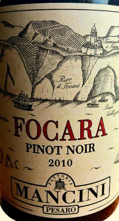 2010 Focara Pinot Noir Colli Pesaresi, Mancini | Wines and People | Scoop.it
