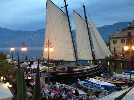 Malcesine by night! | Garda lake | Scoop.it