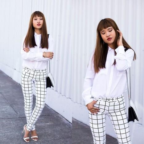 Fashionista NOW: Grid Print Fashion Inspiration | Fashion | Scoop.it