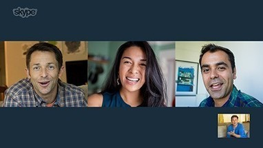 Skype Loves Bringing Groups Together – With FREE Group Video Calling | Working With Social Media Tools & Mobile | Scoop.it