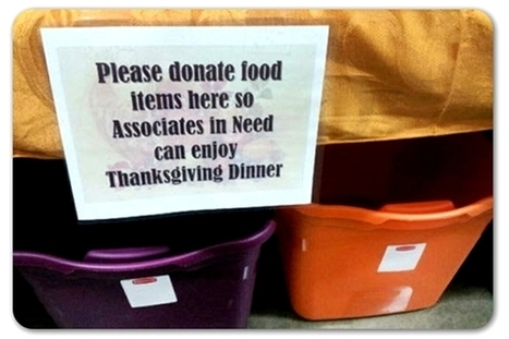 Ohio Walmart employees hold food drive for their co-workers | Employee Relations in Public Relations Professions | Scoop.it