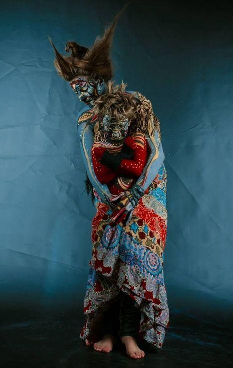 """ Other Species "" #Bodypainting By Vilija Vitkute. #art #masks   Luby Art   Scoop.it"