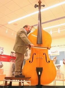 the 12 foot tall octobass