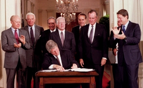 The 20 year history of NAFTA | Geography Education | Scoop.it