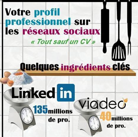 [Infographie] Réseaux sociaux et profil professionnel : les bons ingrédients en image | E-Réputation des marques et des personnes : mode d'emploi | Scoop.it
