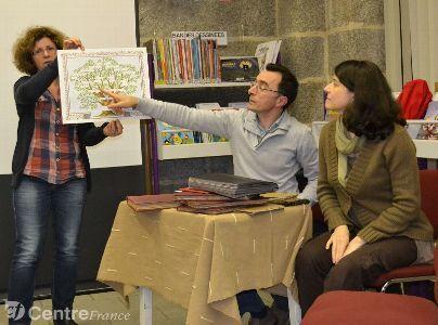 La bibliothèque d'Olliergues a organisé une rencontre en lien avec l'exposition qu'elle accueille | Rhit Genealogie | Scoop.it