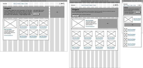 Wireframing Responsive Designs with Mockups | UX Blog | Balsamiq | Responsive design & mobile first | Scoop.it