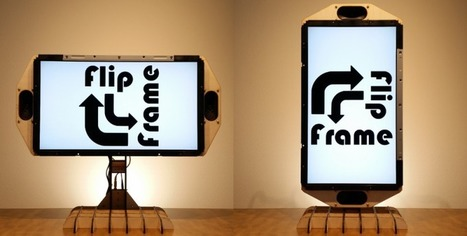 Rotating Frame Will Change Your View of Vertical Images | Raspberry Pi | Scoop.it