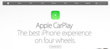 Apple lanza CarPlay e integra iOS y Siri en vehículos | NewTech (En&Español) - Web Dev&Design - Social Net - SEO | Scoop.it