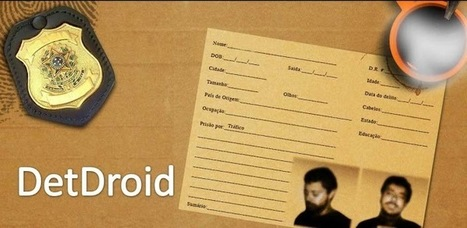 DetDroid - Detective - Applications Android sur GooglePlay   Android Apps   Scoop.it