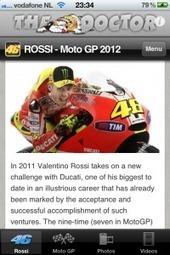 "Ductalk APP of the Day | ""ROSSI"" Free App for iPhone & iPad now in iTunes App Store | Valentino Rossi Ducati - MotoGP 2012 | Ductalk Ducati News | Scoop.it"