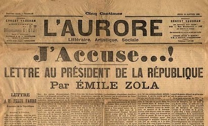13 janvier 1898 - Émile Zola : 'J'accuse !' | Racines de l'Art | Scoop.it