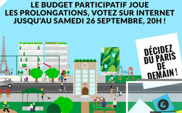 Budget Participatif 2015: Plus de 55000 parisiens ont donné leur avis. et VOUS ? | URBANmedias | Scoop.it