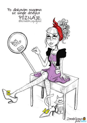 Po dlakavim nogama se single devojka poznaje.... | Zanimljivi tvitovi | Scoop.it
