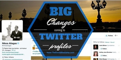5 Big Changes Coming To Your Twitter Profile | Brand Communications: Social Media | Scoop.it
