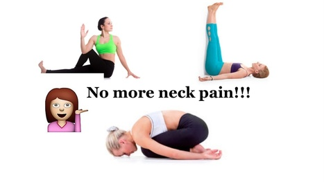 10 Quick Yoga Stretches For Neck Pain Relief | Alternative Treatments to MS | Scoop.it