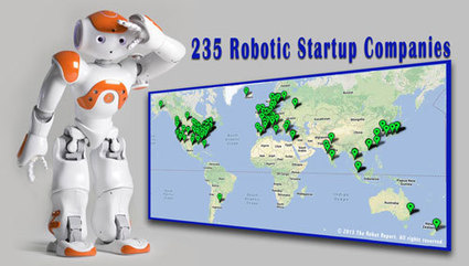 A glimpse at our robotic future: 235 start-ups reviewed | Robohub | Robolution Capital | Scoop.it